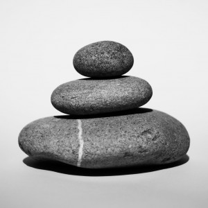 Three stones of wisdom